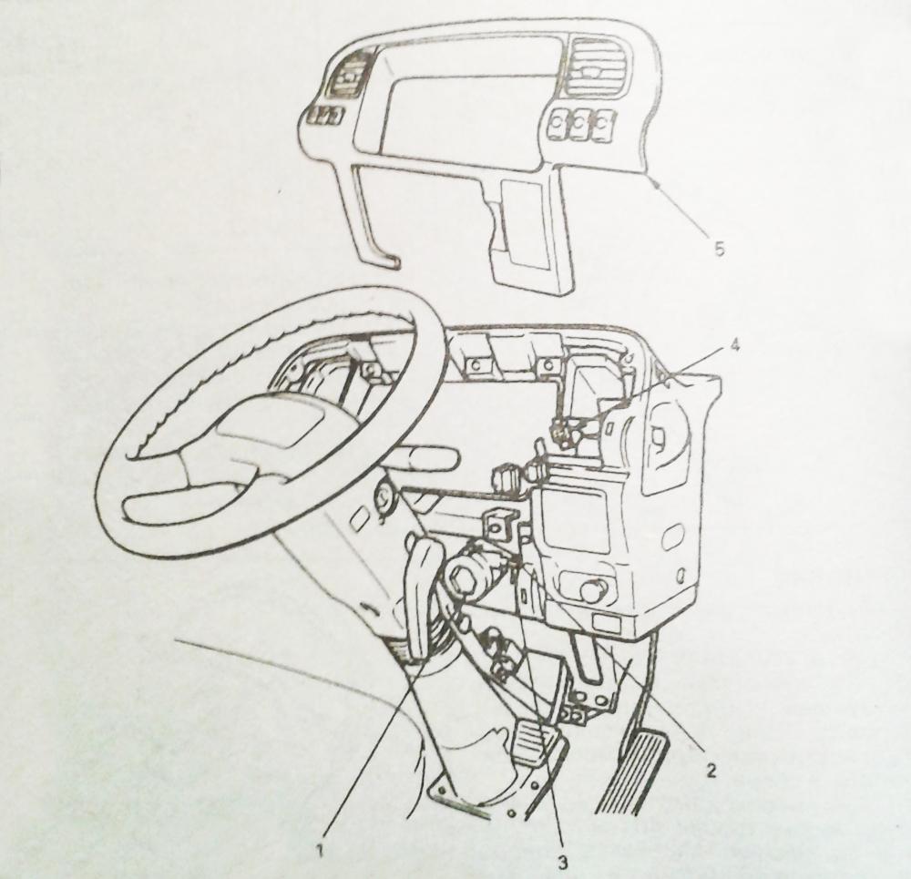 Замена главного тормозного цилиндра Isuzu